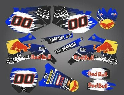 Yamaha Yz 125 250 graphic kit decals stickers 2007-2009