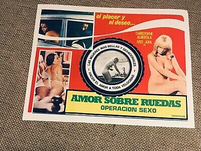 """Lobby Card: """"Operation Sex"""", Mexican"""