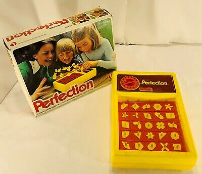 1975 Perfection Game by Lakeside Complete, Working in Good Condition FREE SHIP