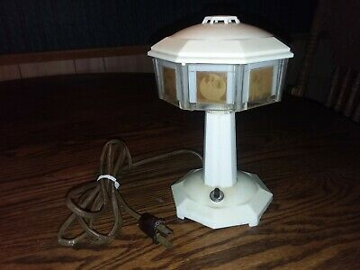 c.1940 VINTAGE SEMI NUDE PIN UP GIRL LAMP NATIONAL PICTORIALAMP LOS ANGELES CA