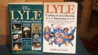 Lyle Official Antiques Review 1990 &  Lyle Cashing In Collecting Americana