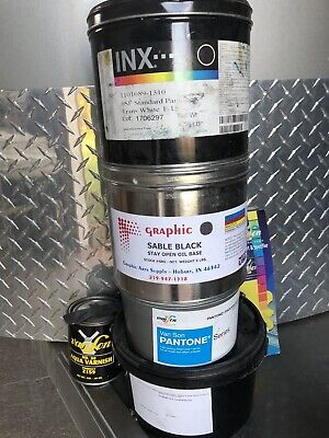 offset printing ink acrylic and oil based various