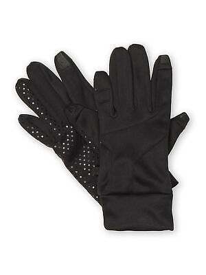 NordicTrack Womens Soft-Shell Touchscreen Texting Fleece Lined Gloves - Black XL