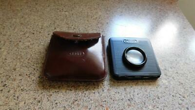 #01121 Vintage CENEI Pocket Slide Viewer with Leather Case Germany Photography