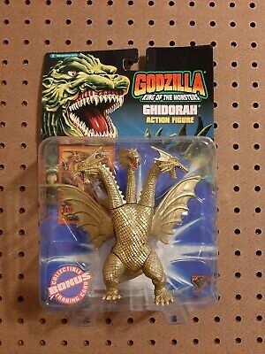 1994 RARE Godzilla King of the Monsters Ghidorah Action Figure. NOS