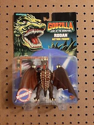 1994 RARE Godzilla King of the Monsters Rodan Action Figure. NOS