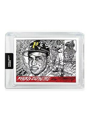 TOPPS PROJECT 2020 ROBERTO CLEMENTE #68 PIRATES 1955 #164 By JK5 PRESALE SP Card