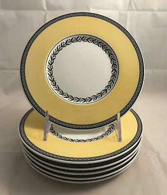Set of 6 Villeroy & Boch Audun Fleur Bread & Butter Plates