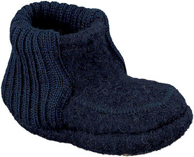 Nanga Baby Boys' Hänsel and Gretl Slippers, Blau Dunkelblau 32, 2.5 Child UK