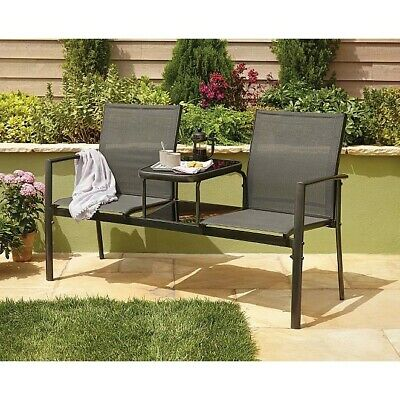 Jack and Jill Garden Seat  for two