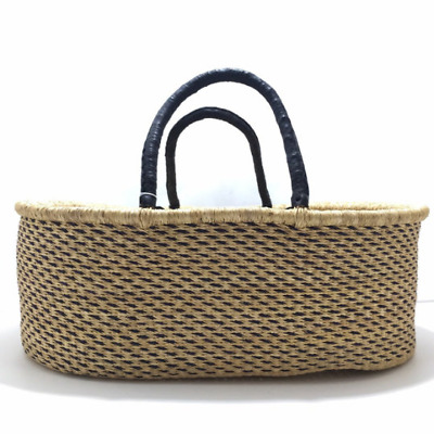Natural African Moses Basket and Baby Bassinet   Baby Bed   Natural Moses Basket