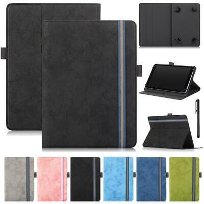 For Samsung Galaxy Tab 3 4 E Lite 7.0 8.0 9.6 Universal Leather Stand Case Cover