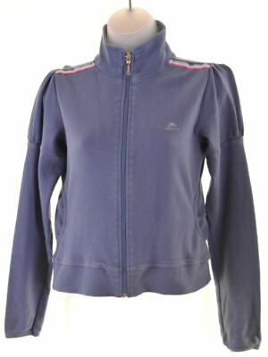 ELLESSE Girls Tracksuit Top Jacket 10-11 Years Blue Cotton  X019