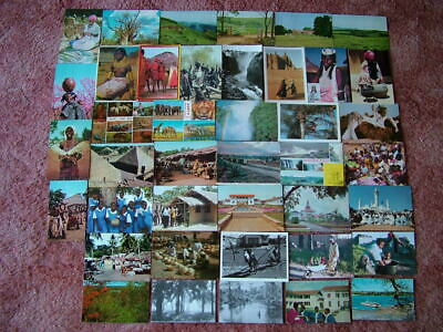 41 Unused Postcards of AFRICA. 1960's/70's onwards. Various Countries.