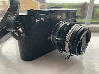Leica M M9 - 18.0MP Digital Rangefinder Camera - Black