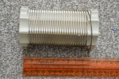 Ceramic Coil Former  Large  (125mm x 65mm)