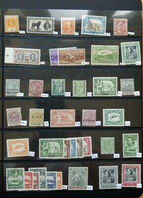 Commonwealth stamp collection Mmint CV£172