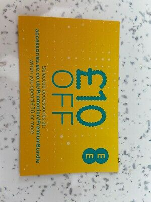 EE £10 Off Voucher