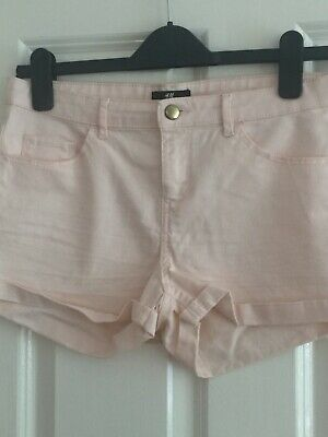 Girls/ladies H&M Light Pink Shorts