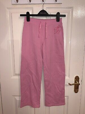 Cherokee Girls Pink Joggers Age 8-9 Years