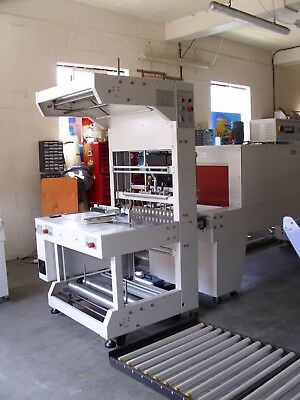 Shrink wrap wrapping tunnel shrink wrapper machine bottles/cans Exdemo £9999+vat