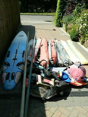 Winsurfing Joblot Mistral Equipe2 Booms Sails Masts other Tushingham North sails