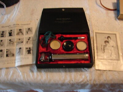 1920'S Electraply Laboratories Quack Medical Device with Case - Philadelphia, PA