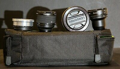 Lensbaby Optical Pro Multiple Lens Swap System. Canon Fit. Unused.