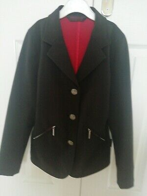 Girls Horseware Competition Black Jacket Age 9-10years Immaculate rrp £45