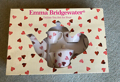 Emma Bridgewater Pink Hearts Melamine Childrens Tea Set