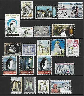 PENGUINS nice page , mainly Fine Used