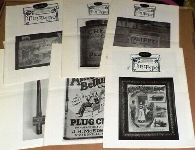 Tin Type Magazine (13 Issues) Tin Container Collectors Association 1993-96