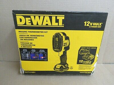 DEWALT DCT416S1 12-Volt MAX Lithium-Ion Cordless Imaging Thermometer Kit