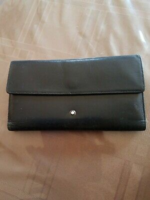 Mont Blanc Woman's Black Wallet RARE