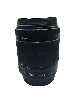 Canon Efs 18-55mm Image Stabilizer Macro 0.25m/0.8ft