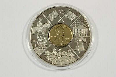 American Currencies.comm. Medal By American Mint 50Mm Dia. Proof Finnish 2001
