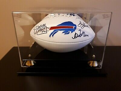 For sale is a Reed,Thomas and Kelley Signed Football