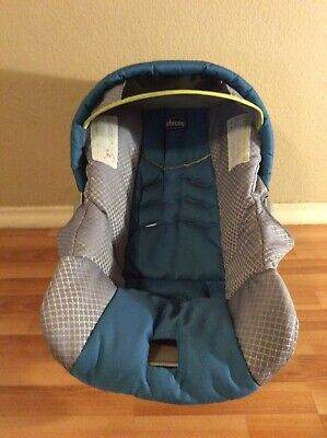 CHICCO Keyfit 30 Infant Car Seat Cushion Cover Canopy Set Parts Replacement Blue