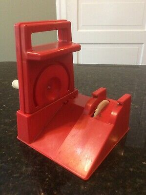 Vintage Ideal Evel Knievel RED Stunt Cycle Launcher Charger Energizer 1973