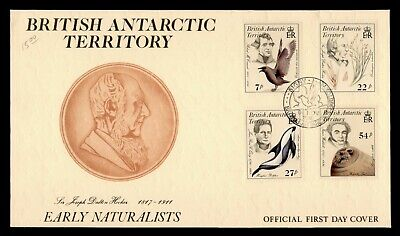 Dr Who 1985 British Antarctic Territory Early Naturalists Fdc C171465