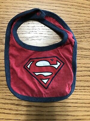 Superman Baby Infant Bib NEW