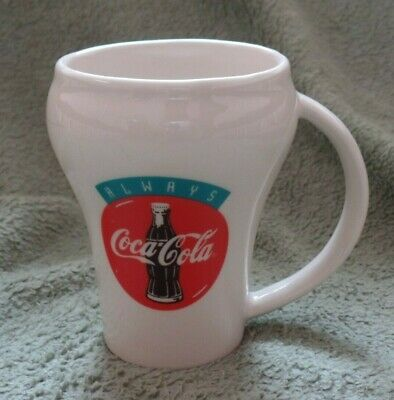 McDonald's Coca-Cola coffee mug, Golden arches, 15 cent burger, Always Coca-Cola