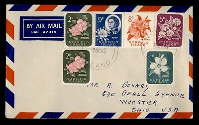Dr Who 1961 Norfolk Island Airmail To Usa  150525