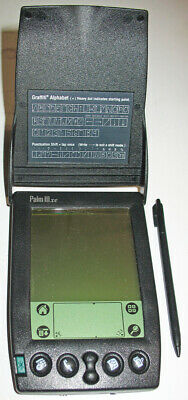 Vintage Palm Pilot lll xe with stylus. Working