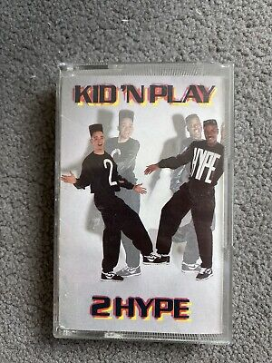 Kid 'n Play 2 Hype Cassette Tape