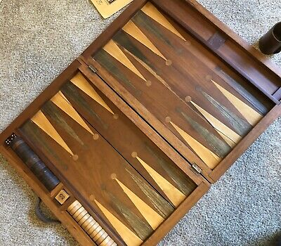 1920s antique backgammon Set