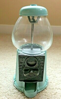 "VINTAGE Houston's Gumball Machine - 9"" - Unusual Color - Works - NICE!"