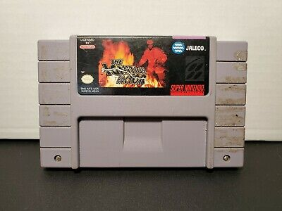 The Ignition Factor (Super Nintendo SNES) AUTHENTIC! TESTED! US VERSION!
