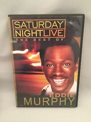 Dvd Best Of Eddie Murphy Snl Saturday Night Live As New James Brown Buckwheat ++