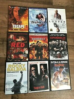 DVD movies lot Choose Any One   (shipping to Canada only)